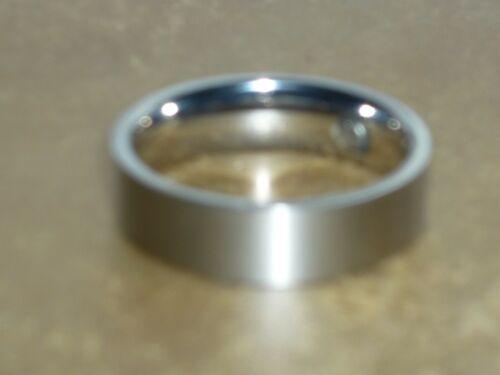 RING EDELSTAHL MAGNETSCHMUCK Klar Clean  GR 23