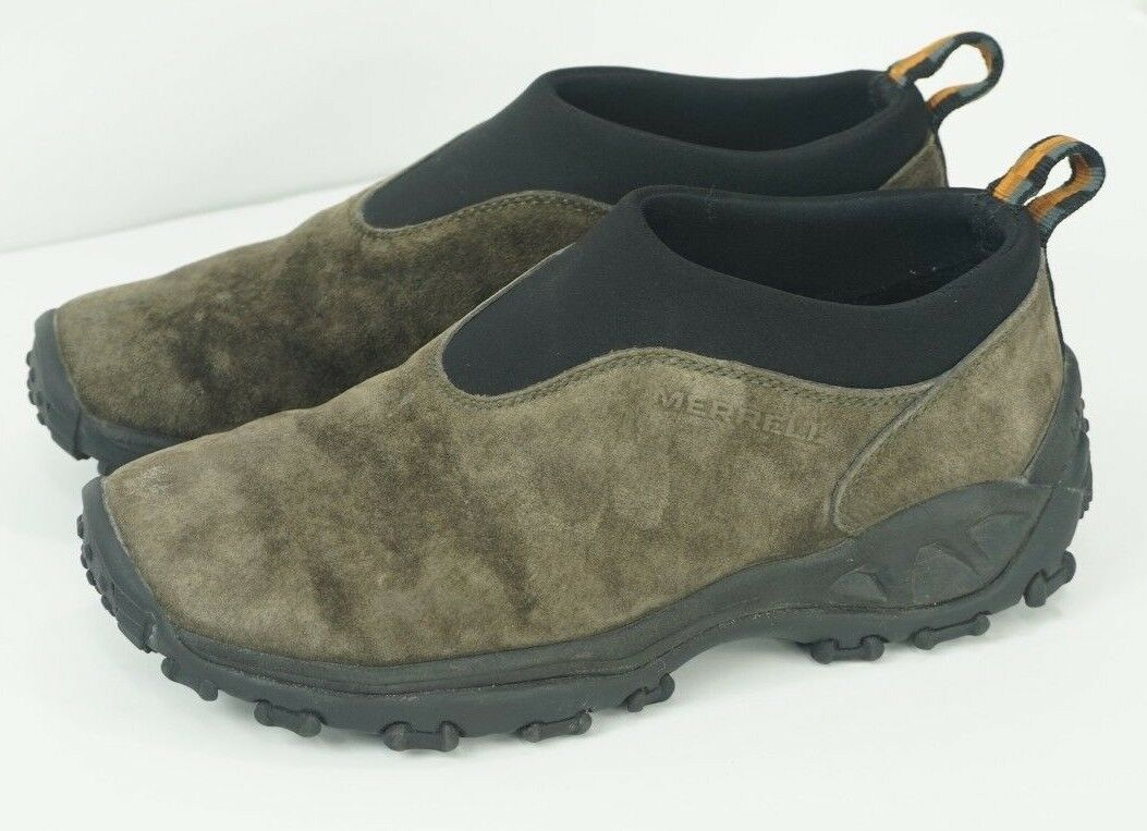 Merrell Winter Moc Gunsmoke Suede Womens Slip-On Trail Outdoor shoes Size 7