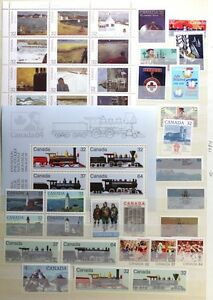 CANADA-Postage-Stamps-1984-Complete-Year-set-collection-Mint-NH-See-scans