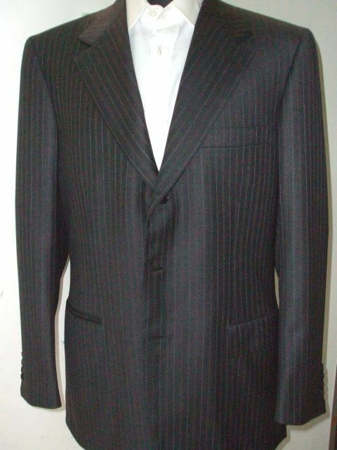NEW BRIONI  Suit  100% Wool    41 Us 51 Eu Made in  (BR21)