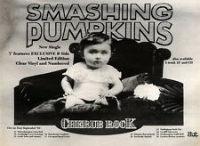 "26/6/93PGN19 SMASHING PUMPKINS : CHERUB ROCK SINGLE ADVERT 7X10"" TOUR DATS"