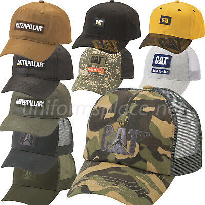 Caterpillar Camo Twill//Mesh w//Turkey