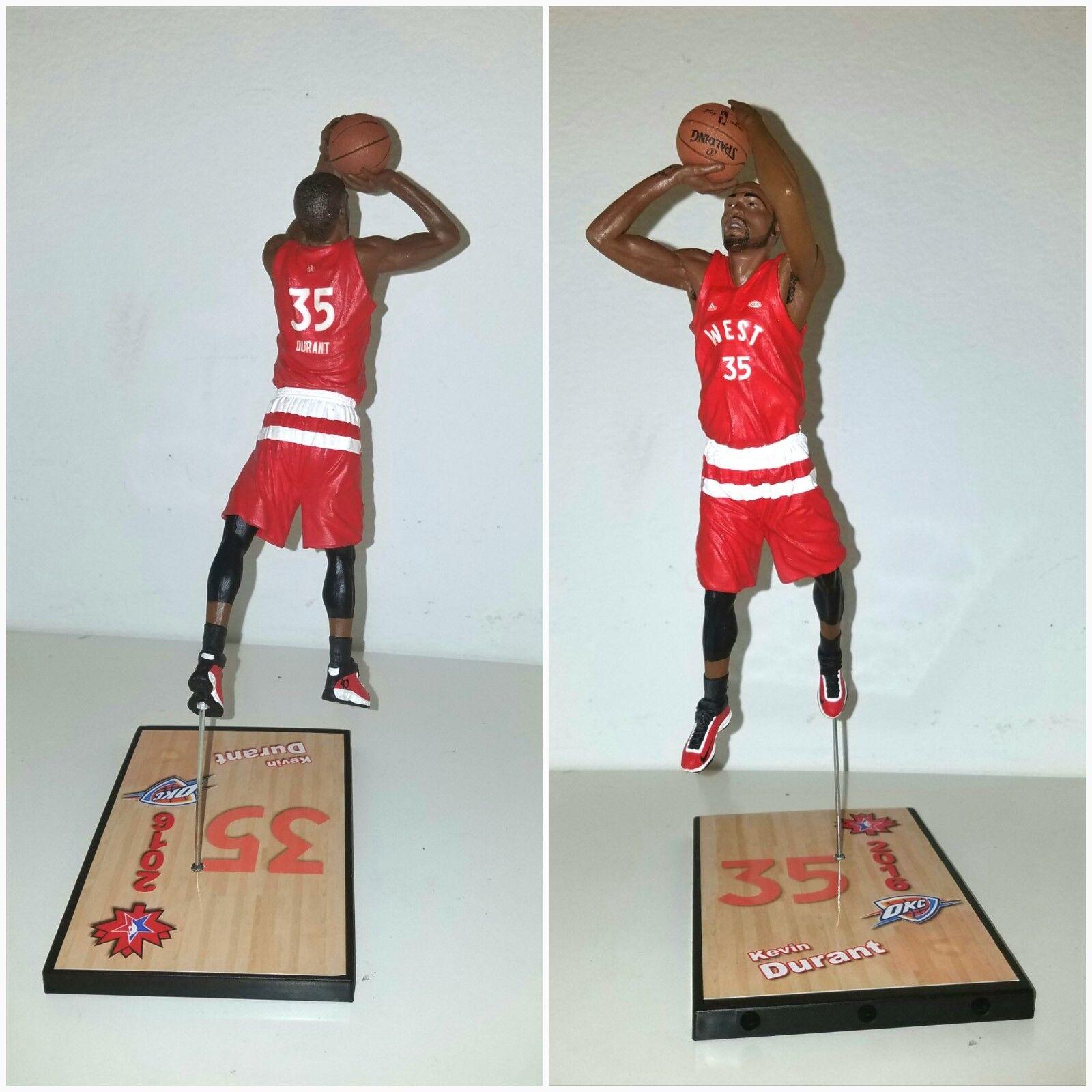Custom K. Durant  35 Western Conference All-Stars  Warriors   mcfarlane figure