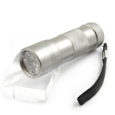 12 LED Ultra Violet UV Flashlight Torch Black Light Brand New