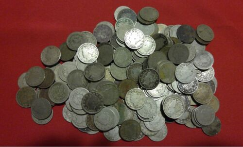 Liberty Nickel CULL Coins //// 1883-1912 //// 40 COINS ROLL of Old U.S 1