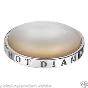 Emozioni-Hot-Diamond-Silver-White-Mother-Pearl-Coin-33mm-EC020