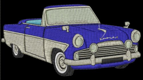 Ford Zephyr//Zodiac Convertible Embroidered /& Personalised Polo Shirt