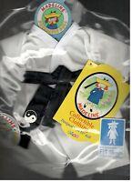 Madeline 15 Inch Doll Ragdoll Karate Judo Outfit Eden Headband Black Belt