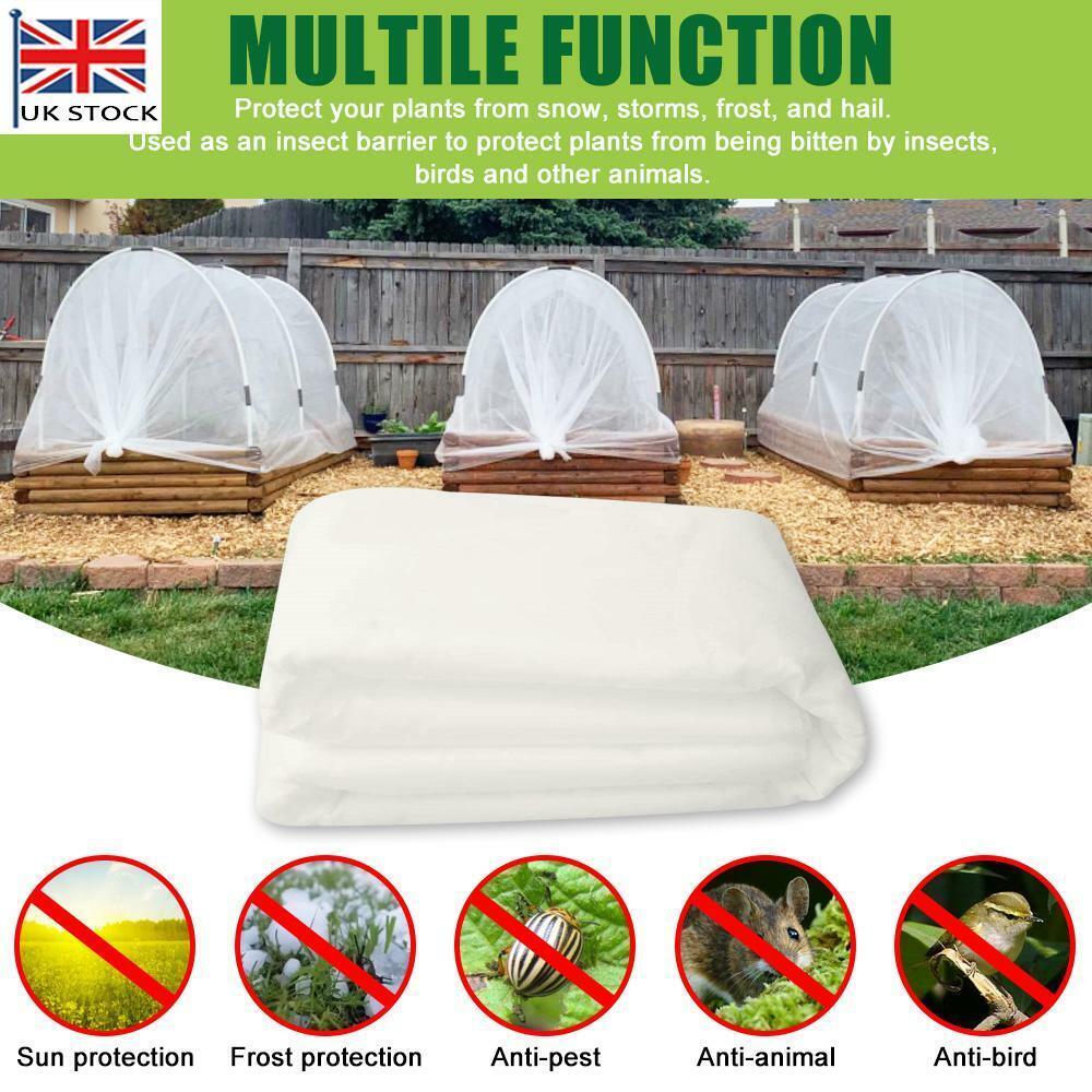 Non-woven Heavy Duty Frost Fleece Plant Protection Garden Cover Horticultural UK