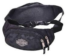 Harley-Davidson Bar & Shield Zippered Adjustable Hip Pack, Nightvision 99212