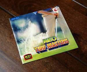 TURF MASTERS/Big Tournament Golf US English AES Manual * Neo Geo NGH System SNK
