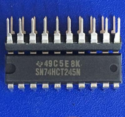 10PCS SN74HC240N 74HC240N DIP20 DIP-20 TI chip IC NEW