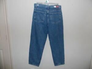 Vintage-90-039-s-Tommy-Hilfiger-Denim-Jeans-Big-Flag-Logo-SZ-36X30