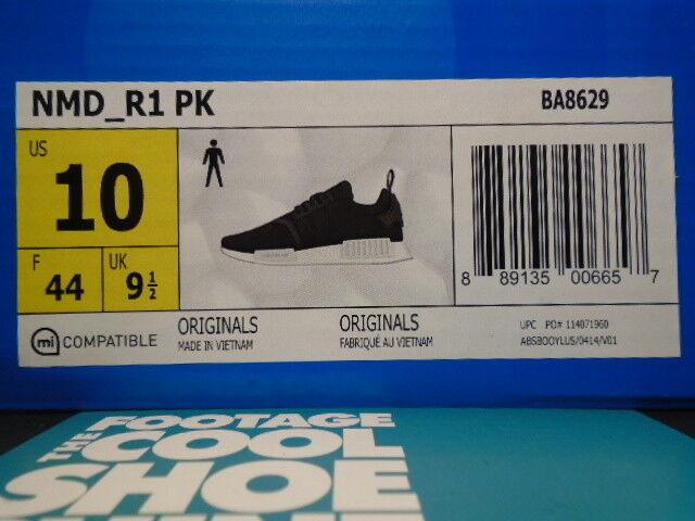 2016 adidas nmd r1 nucleo pk monocromatico pack nucleo r1 bianco nero rt sns ba8629 10 d371e2