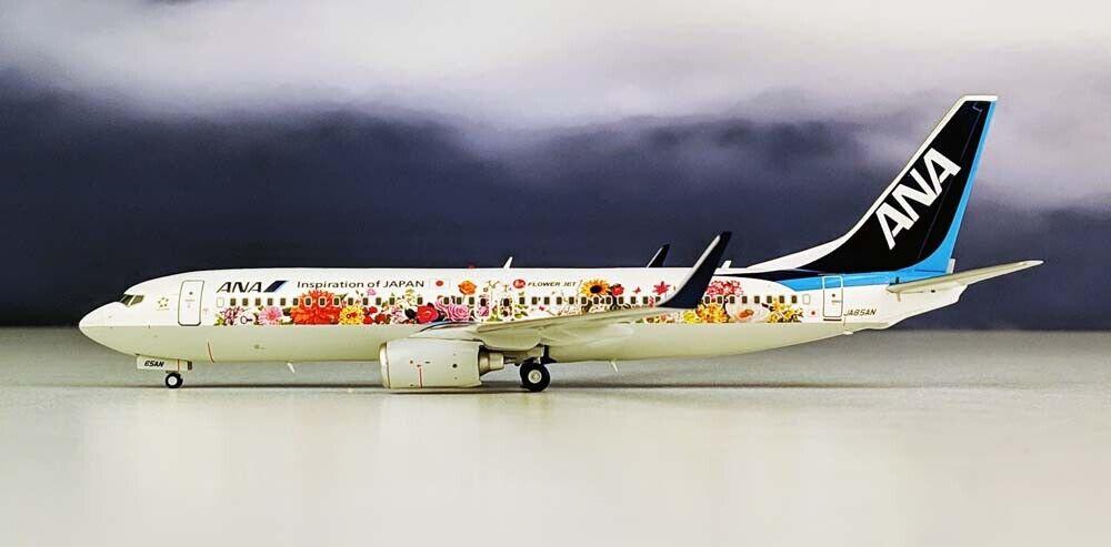 Jc Wings Ana B737-800 (W) Tohoku Flor Jet JA85AN con soporte 1 200 XX2031