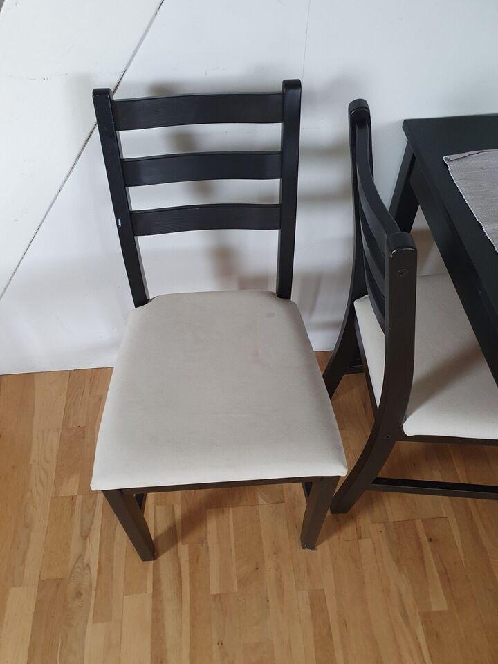 Spisebord m/stole, Ikea, b: 72 l: 117