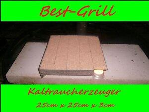 Best-Grill kaltraucherzeuger sparbrand Räucherofen fumée producteurs 25 x 25 cm  </span>