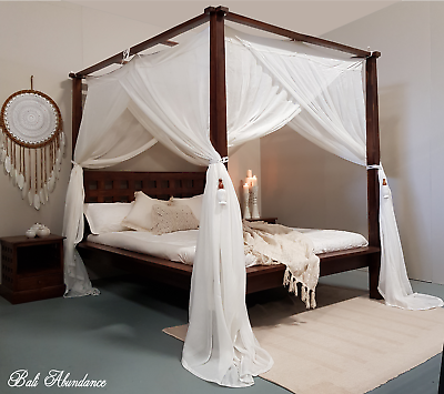 Canopy Mimpi Muslin Mosquito Net For