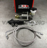 Blox Competition Qr Cmc & Exedy Slave Cylinder Kit W/ Stainless Clutch Line