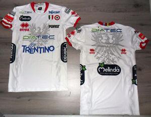 FW14-Itas-Diatec-Trentino-Volley-Camiseta-XL-Wht-Camiseta-Voleibol-Trento-Shirt