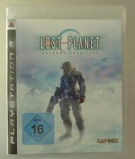 Lost PLANET EXTREME CONDITION Playstation - 3, ps3 gioco BLURAY DISC Capcom HDD
