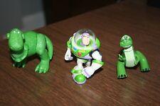"Toy Story 3.5"" Green Dinosaur Rex Plastic PVC Figure 2.5"" Rex & Buzz Buddy Pack"