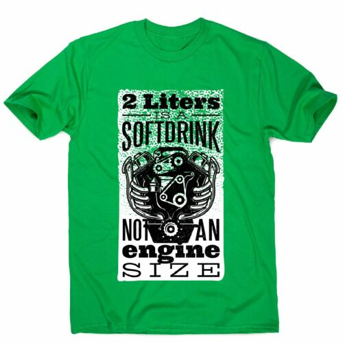 Soft drink men/'s funny premium t-shirt