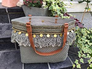 5b7b5a20943b4 Das Bild wird geladen Tasche-Boho-Hippie-Ibiza-Style-Schultertasche- Strandtasche-Shopper-