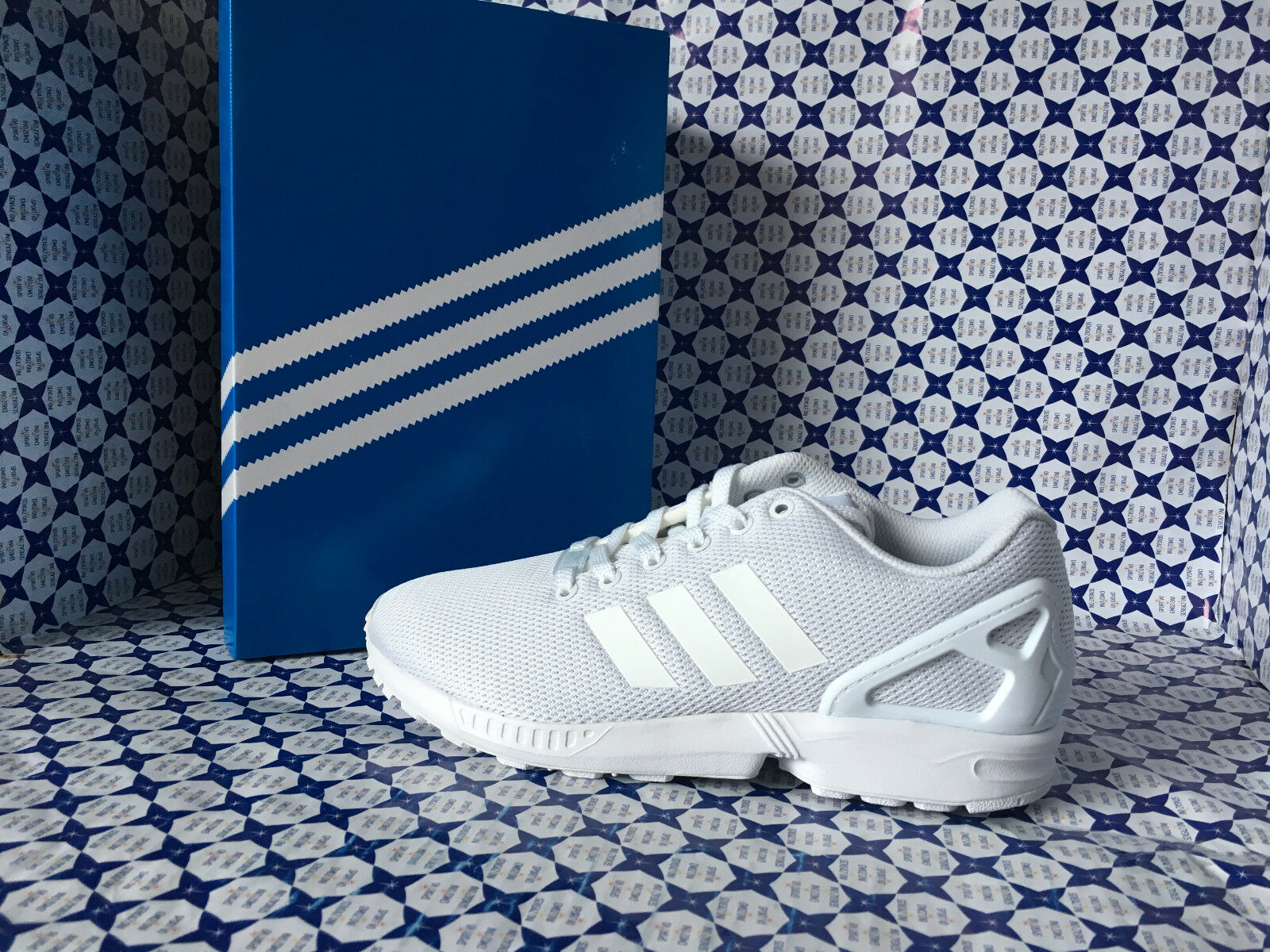 Zapatos hombre  Adidas Zx Flux hombre Zapatos  Bianco  S32277 d3b15f