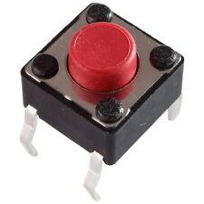 10 Diptronics DTS-62R-V Mini-Taster 12V 50mA 1xEIN 2,6N 6x5,0mm liegend 855617