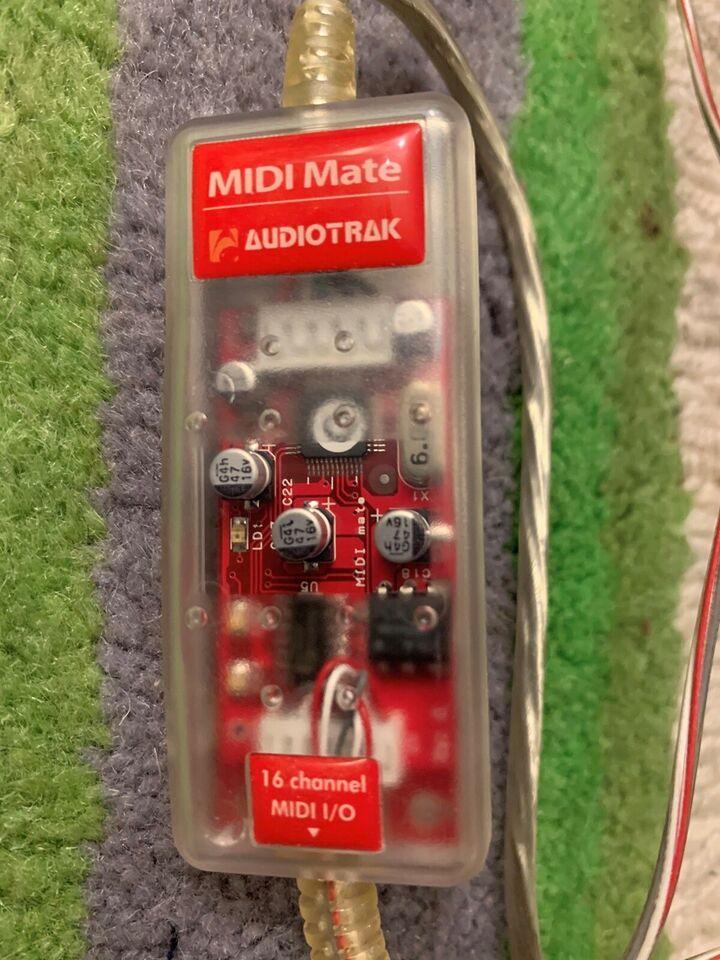 Midi interface, Audiotrack Midimate