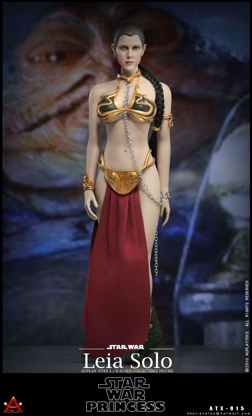 ACPLAY Star War Princess Leia Solo Suit w/Head 1/6 Fit Phicen Kumik Female body