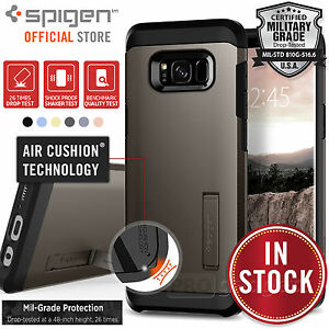 Galaxy S8 Plus/S8 Case,Genuine SPIGEN Heavy Duty Tough Armor Cover for Samsung