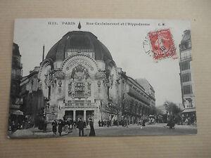 PARIS-RUE-CAULAINCOURT-ET-L-039-HIPPODROME-BOSTOCK-PLACE-CLICHY