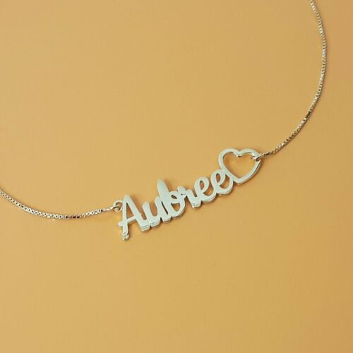 Personalized Name Necklace Gift For Little Girl Customized Children Jewelry