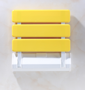 Details About Wall Mounted Folding Shower Seat Fold Down Stool Bench For Bathroom