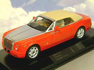 Superbe-Ixo-1-43-Moulage-sous-Pression-2007-Rolls-Royce-Spectre-Drophead-Coupe
