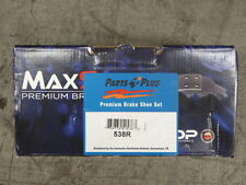 BRAND NEW MAXSTOP 538R REAR DRUM BRAKE SHOES FITS VARIOUS 87-02 DODGE JEEP