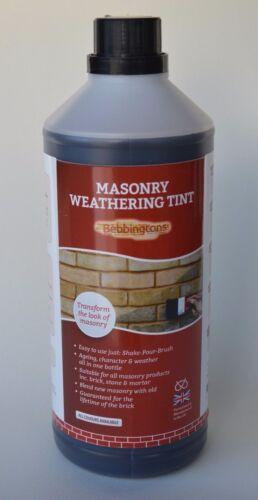 Bebbington de brique, Maçonnerie & Mortier Weathering Tint 1 L