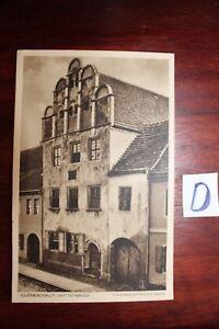 MotivéE Carte Postale Vue Carte Mecklenburg Vorpommern Luther Ville Wittenberg-afficher Le Titre D'origine Bon GoûT