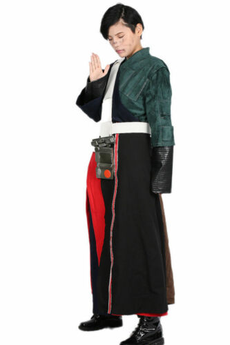 Rogue One A Star Wars Story Chirrut Imwe Full Suit Outfit Cosplay Costume Xcoser