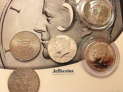 50th Anniversary Kennedy 1964 2014 P D Half Dollar 90/% Silver 5 Coin Set inc K14
