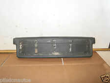 BMW 3 SERIES E46 1999 FRONT NUMBER PLATE HOLDER