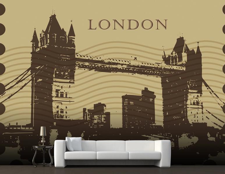 3D London Bridge 743 Wall Paper Murals Wall Print Wall Wallpaper Mural AU Kyra