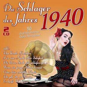 DIE-SCHLAGER-DES-JAHRES-1940-2-CD-NEU
