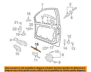 vw door diagram 20 12 malawi24 de \u2022 VW Light Switch Wiring vw volkswagen oem 06 10 beetle door lock cable 1c0837085f ebay rh ebay com vw t4 sliding door diagram vw t5 door diagram