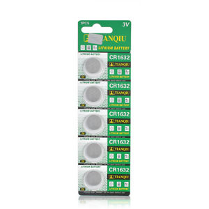 CR1632-1632-Batteries-3V-Coin-Cell-Button-for-Watch-Toys-Remote-Calculators-5Pcs