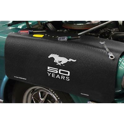 "Ford Mustang 50 Years Grip Fender Cover 22/"" x 34/"" non-slip material"