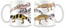 Leopard Gecko Mug  Lizard Reptiles V2