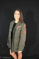US WW2 USMC Marine Corps Uniform Coat Jacket 2nd Air Wing Gunner! Medals.